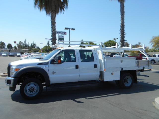2016 F-450 Crew Cab DRW 4x4, Harbor Contractor Body #50014 - photo 3