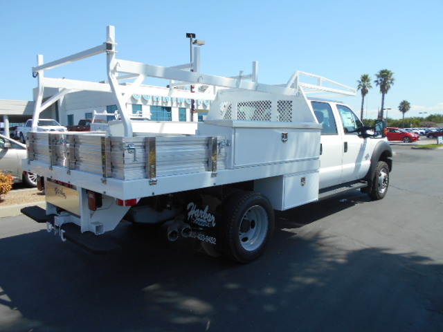 2016 F-450 Crew Cab DRW 4x4, Harbor Contractor Body #50014 - photo 2