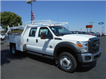 2016 F-450 Crew Cab DRW 4x4, Harbor Contractor Body #50014 - photo 1