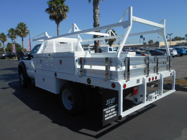 2016 F-450 Regular Cab DRW 4x4, Scelzi Contractor Body #50027 - photo 2