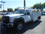2016 F-450 Regular Cab DRW 4x4, Scelzi Contractor Body #50027 - photo 1