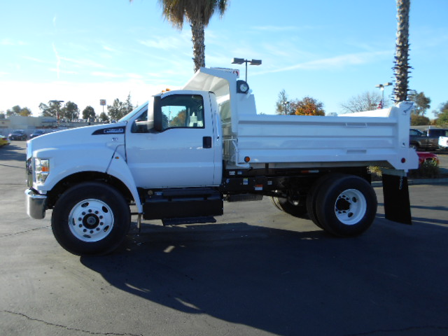 2017 F-650 Regular Cab DRW, Scelzi Dump Body #50041 - photo 3