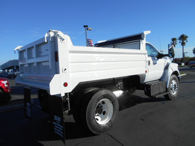 2017 F-650 Regular Cab DRW, Scelzi Dump Body #50041 - photo 2