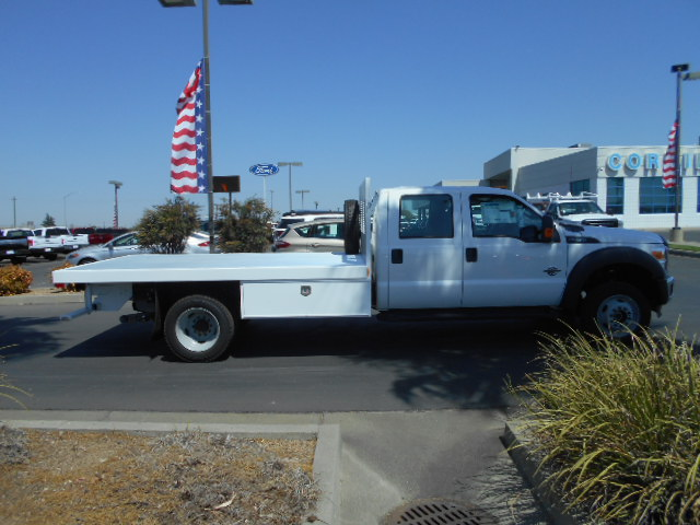 2016 F-550 Crew Cab DRW 4x4, Harbor Flatbed #50066 - photo 7