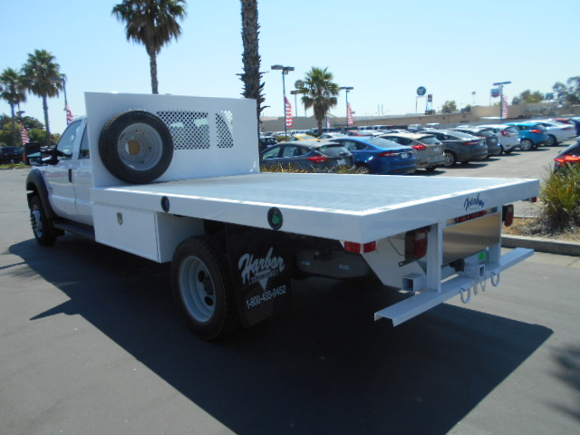 2016 F-550 Crew Cab DRW 4x4, Harbor Flatbed #50066 - photo 2