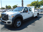 2016 F-550 Crew Cab DRW 4x4, Harbor Flatbed #50066 - photo 1