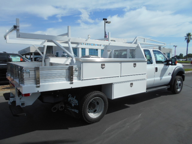 2016 F-450 Super Cab DRW 4x4, Harbor Contractor Body #50067 - photo 2