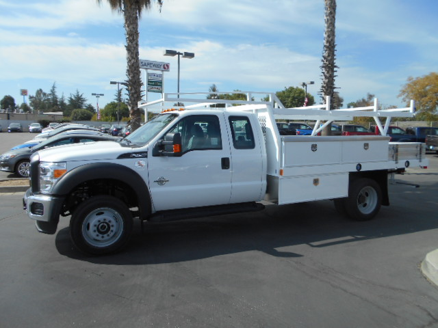 2016 F-450 Super Cab DRW 4x4, Harbor Contractor Body #50067 - photo 3