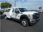 2016 F-450 Super Cab DRW 4x4, Harbor Contractor Body #50067 - photo 1
