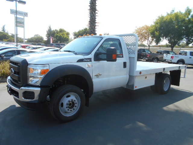 2016 F-450 Regular Cab DRW 4x4, Scelzi Flatbed #50213 - photo 3