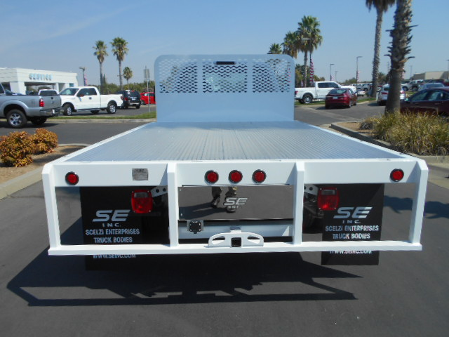 2016 F-450 Regular Cab DRW 4x4, Scelzi Flatbed #50213 - photo 8