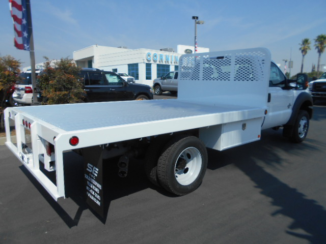 2016 F-450 Regular Cab DRW 4x4, Scelzi Flatbed #50213 - photo 2