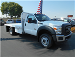 2016 F-450 Regular Cab DRW 4x4, Scelzi Flatbed #50213 - photo 1