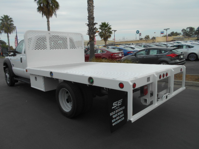 2016 F-550 Super Cab DRW 4x4, Scelzi Flatbed #50243 - photo 2