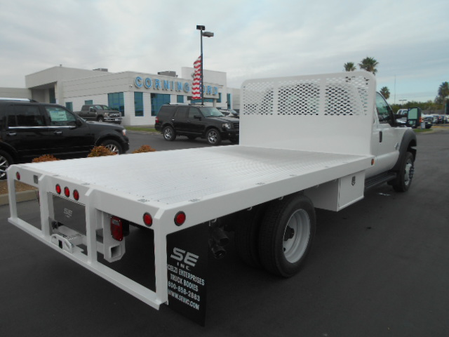 2016 F-550 Super Cab DRW 4x4, Scelzi Flatbed #50243 - photo 8