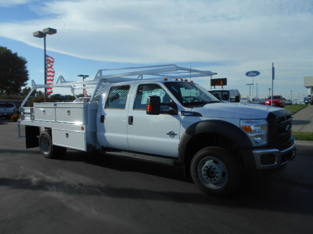 2016 F-550 Crew Cab DRW 4x4, Scelzi Contractor Body #50251 - photo 8