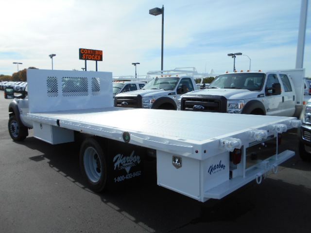 2016 F-550 Regular Cab DRW, Harbor Flatbed #50357 - photo 2