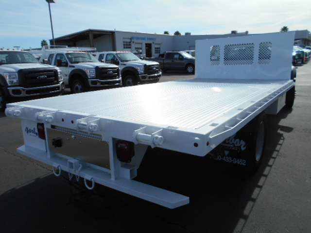 2016 F-550 Regular Cab DRW, Harbor Flatbed #50357 - photo 3