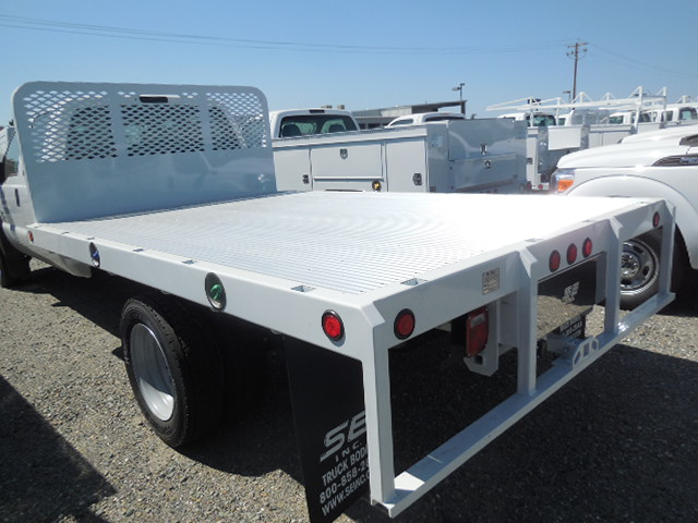 2016 F-550 Regular Cab DRW, Harbor Flatbed #50357 - photo 7