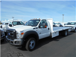 2016 F-550 Regular Cab DRW, Harbor Flatbed #50357 - photo 1