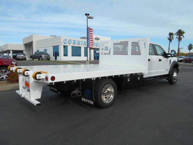 2017 F-550 Crew Cab DRW 4x4, Enoven Truck Body & Equipment Flatbed #50578 - photo 2