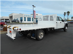 2017 F-550 Crew Cab DRW 4x4, Enoven Truck Body & Equipment Flatbed #50578 - photo 1