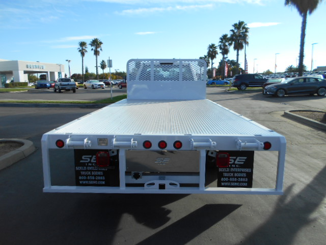 2017 F-550 Regular Cab DRW 4x4, Scelzi Flatbed #50616 - photo 8