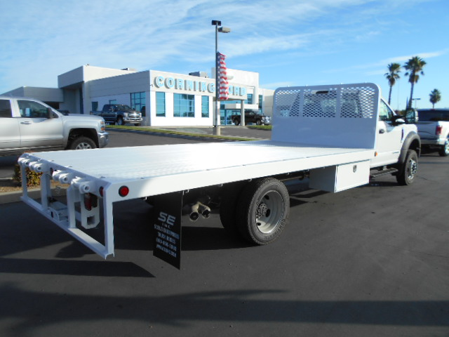 2017 F-550 Regular Cab DRW 4x4, Scelzi Flatbed #50616 - photo 2