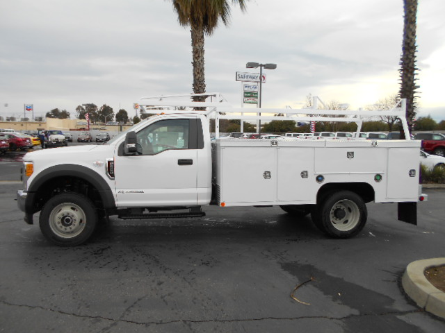 2017 F-550 Regular Cab DRW 4x4, Scelzi Service Body #50876 - photo 3