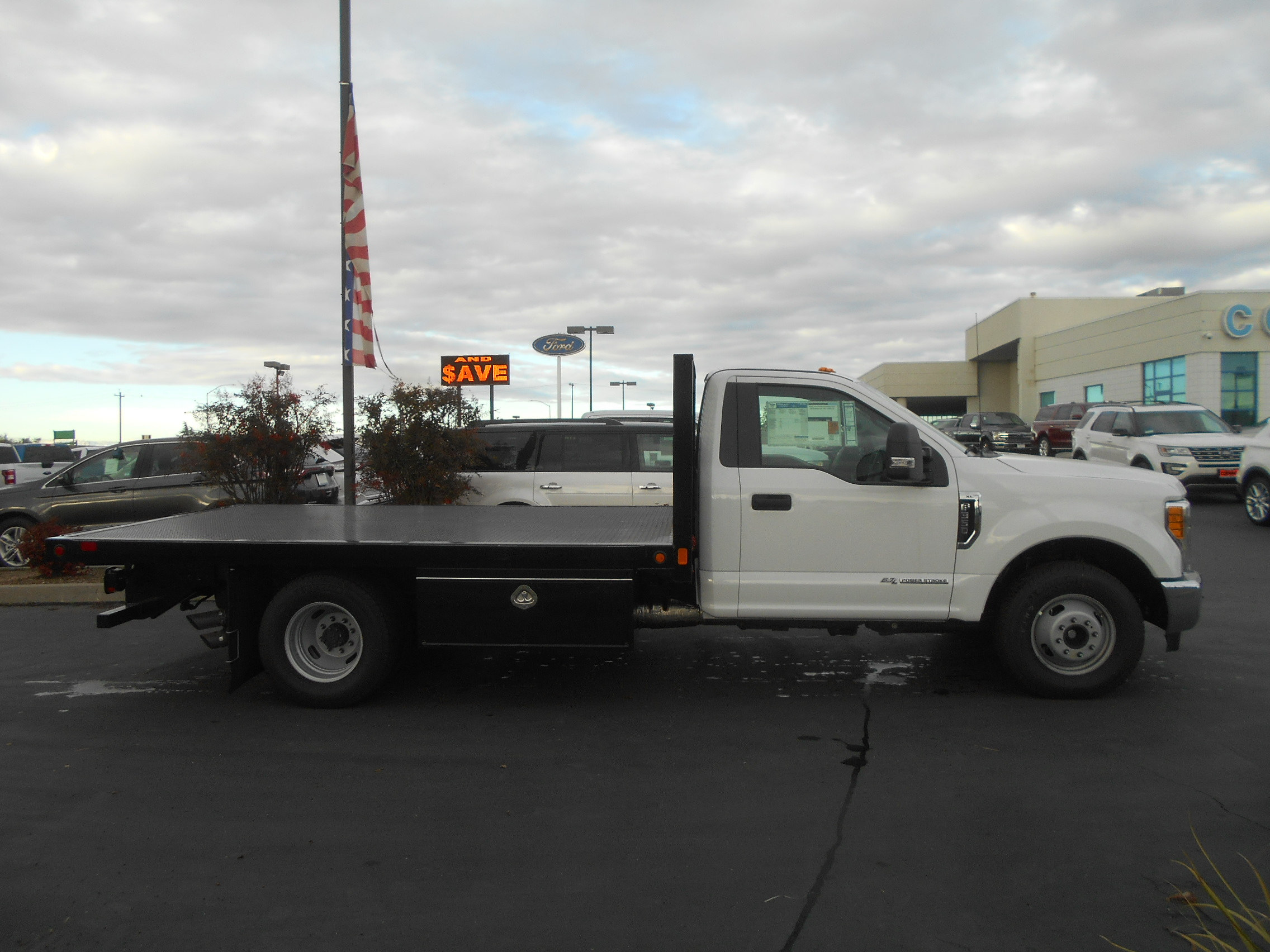 2017 F-350 Regular Cab DRW, CM Truck Beds Flatbed #51197 - photo 8