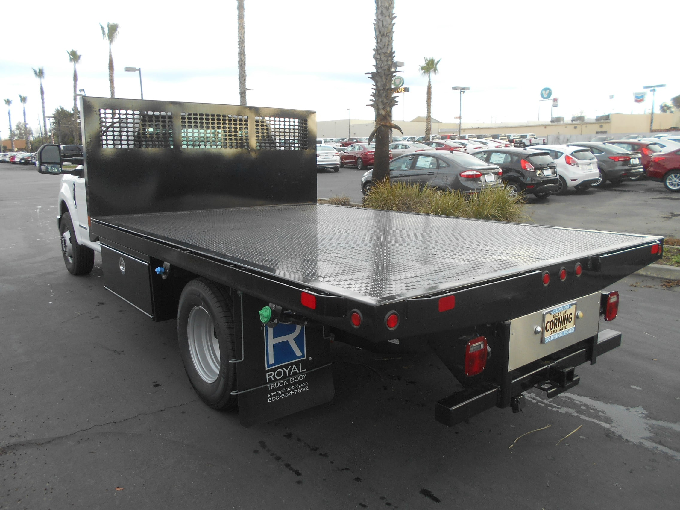 2017 F-350 Regular Cab DRW, CM Truck Beds Flatbed #51197 - photo 2