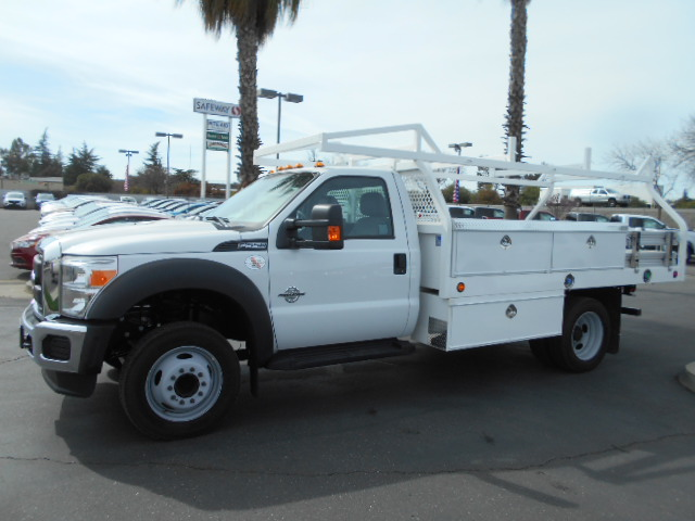 2016 F-550 Regular Cab DRW, Contractor Body #51214 - photo 3
