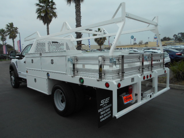 2017 F-550 Regular Cab DRW 4x4, Scelzi Contractor Body #51228 - photo 2