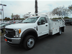 2017 F-550 Regular Cab DRW 4x4, Scelzi Contractor Body #51228 - photo 1