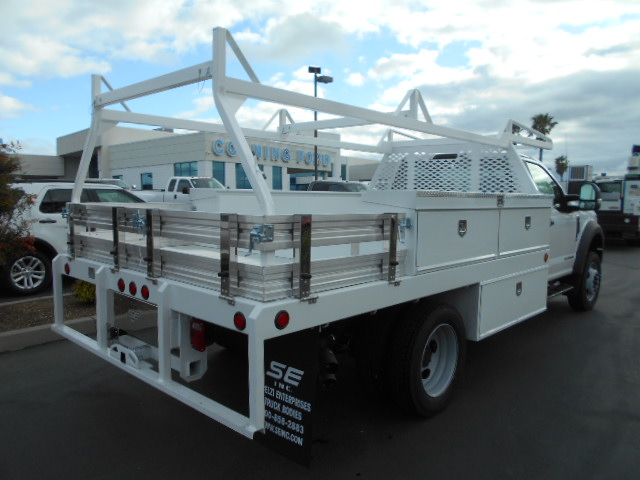 2017 F-550 Regular Cab DRW 4x4, Scelzi Contractor Body #51323 - photo 2