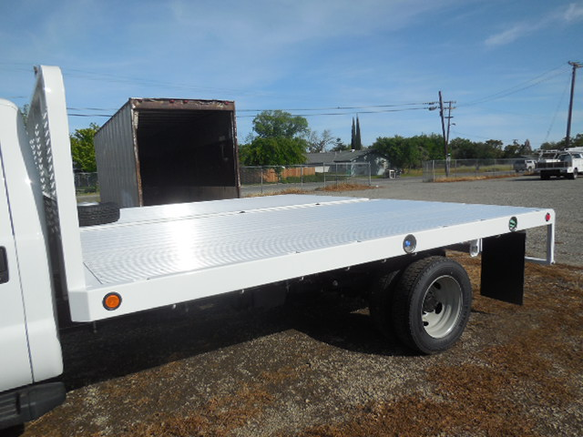 2017 F-550 Regular Cab DRW 4x4, Scelzi Flatbed #51430 - photo 12
