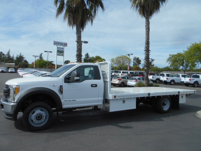 2017 F-550 Regular Cab DRW 4x4, Scelzi Flatbed #51430 - photo 3