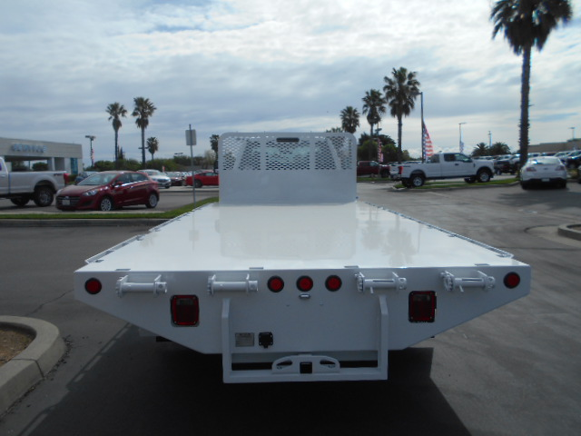 2017 F-550 Regular Cab DRW 4x4, Scelzi Flatbed #51430 - photo 8