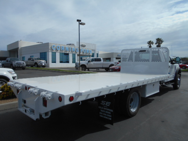 2017 F-550 Regular Cab DRW 4x4, Scelzi Flatbed #51430 - photo 2