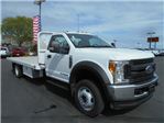 2017 F-550 Regular Cab DRW 4x4, Scelzi Flatbed #51430 - photo 1