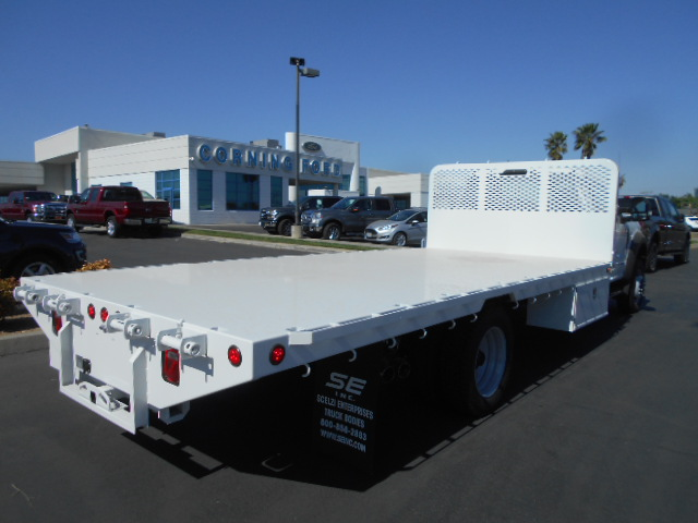 2017 F-550 Regular Cab DRW 4x4, Scelzi Flatbed #51489 - photo 2