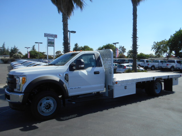 2017 F-550 Regular Cab DRW 4x4, Scelzi Flatbed #51489 - photo 3