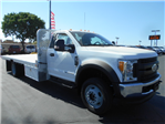 2017 F-550 Regular Cab DRW 4x4, Scelzi Flatbed #51489 - photo 1