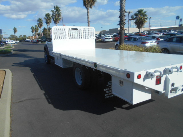2017 F-550 Regular Cab DRW 4x4, Scelzi Flatbed #51656 - photo 2