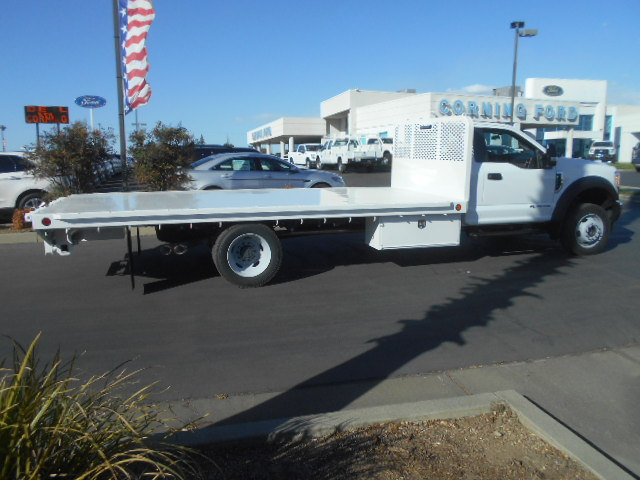 2017 F-550 Regular Cab DRW 4x4, Scelzi Flatbed #51656 - photo 8