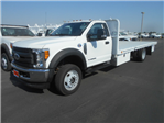 2017 F-550 Regular Cab DRW 4x4, Scelzi Flatbed #51657 - photo 1