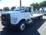 2017 F-650 Regular Cab DRW, Scelzi Flatbed #51887 - photo 1