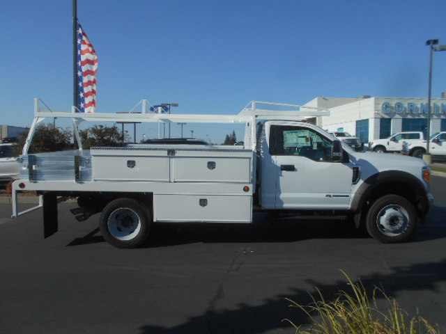 2017 F-450 Regular Cab DRW 4x4, Scelzi Contractor Body #52027 - photo 7