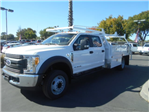 2017 F-550 Crew Cab DRW, Scelzi Contractor Body #52339 - photo 1
