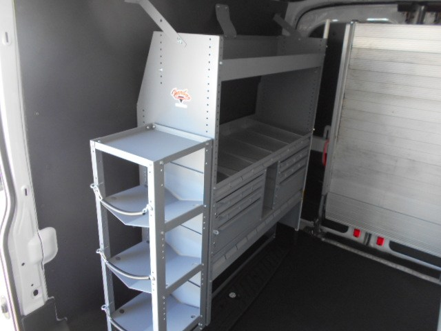 2017 Transit 250 Med Roof,  Harbor Upfitted Cargo Van #52382 - photo 2